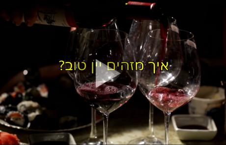 איך מזהים יין טוב?
